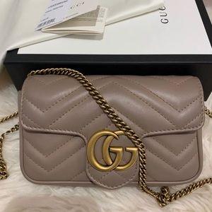 Pre-Loved Gucci Mormont Matelasse Super Mini bag